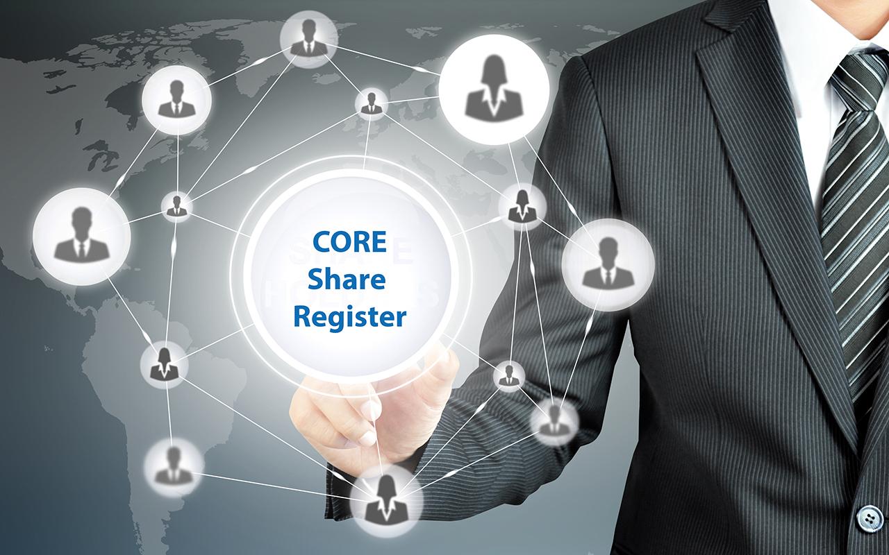 CORE Share Register